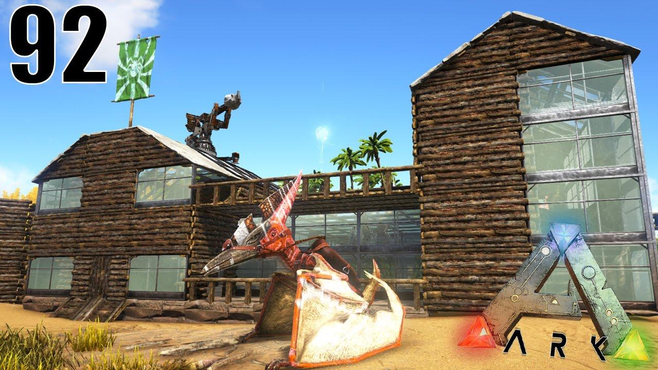 Ma nouvelle maison chez les dinosaures ark survival for Modele maison lego