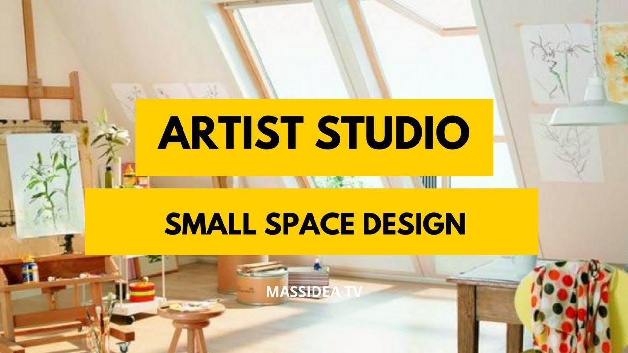 100 Awesome Small E Artist Studio Design Ideas