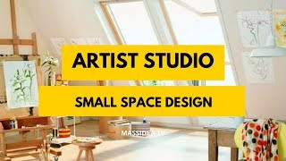 100+ Awesome Small Space Artist Studio Design Ideas