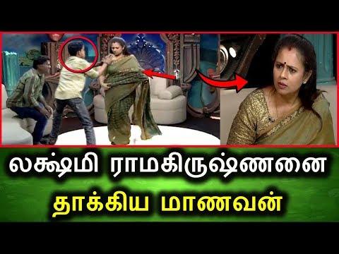 லக்ஷ்மி ராமகிருஷ்ணனை  தாக்கிய மாணவன் | Tamil Political Live Breaking News Today Vishal