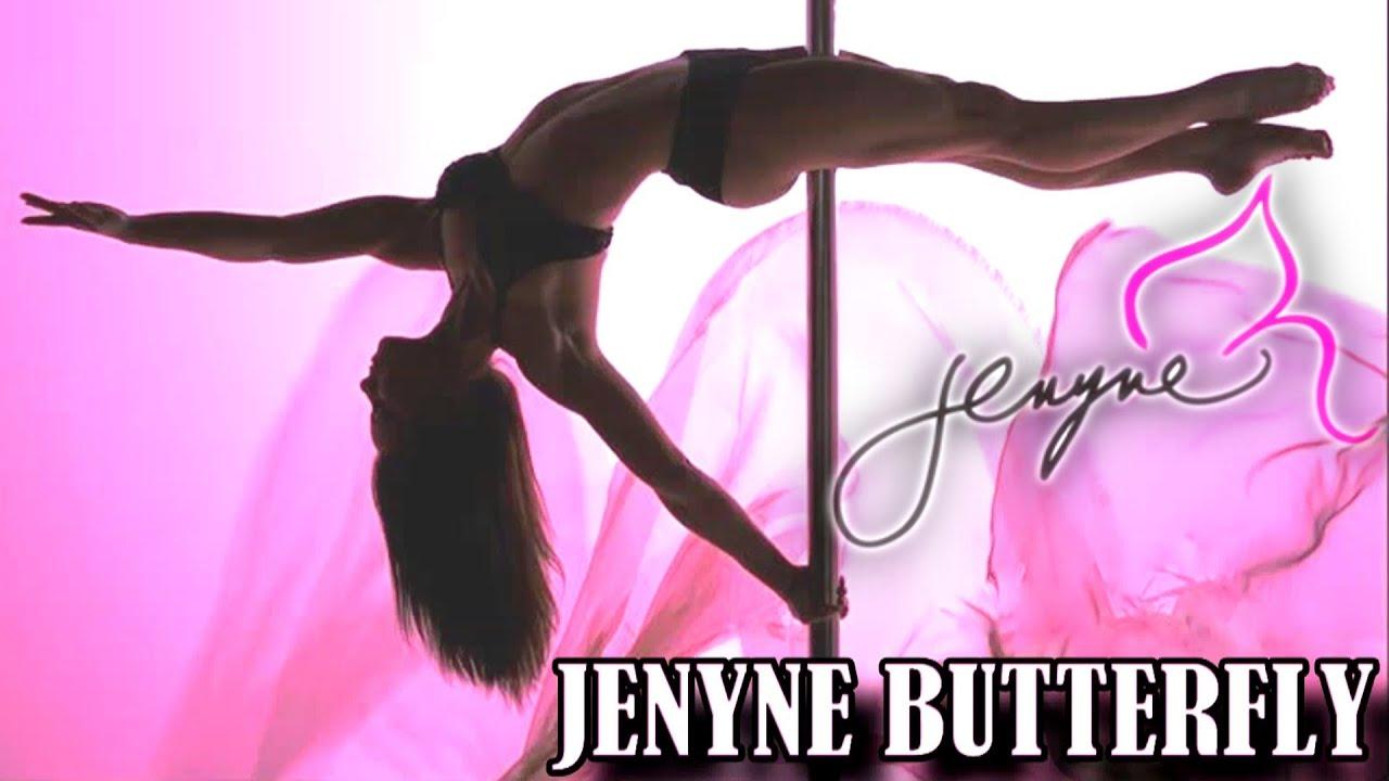 Jenyne Butterfly World's Best Pole Dancer Greatest Hoop ...