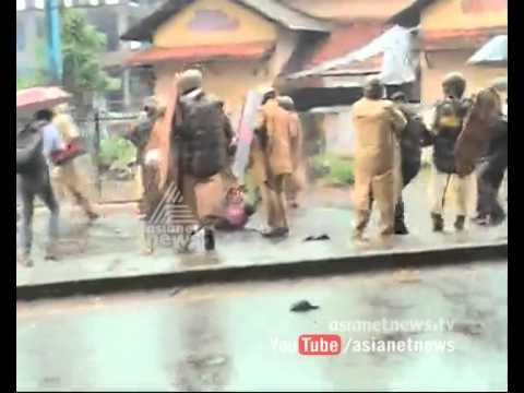 ഡി വൈ എഫ് ഐ പ്രതിഷേധം: പൊലിസ് ലാത്തിച്ചാര്ജ് | DYFI protest turns violent