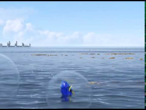 Disney Channel Russia ident - Finding Dory #1