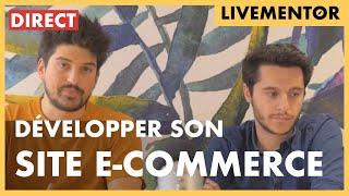 🔴[DIRECT] Développer votre site e-commerce   LiveMentor