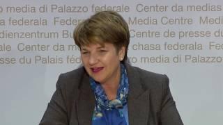 5.12.2018 - MK Bundesratswahl: Viola Amherd