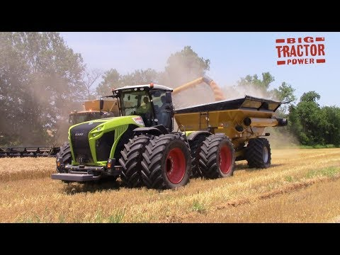 Claas Xerion 5000 4wd Ride Along