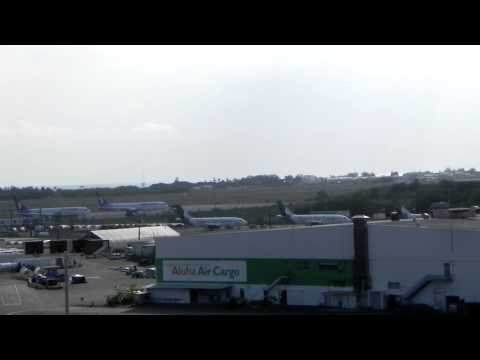 Josh landing at Hickam AFB