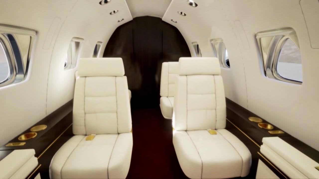 Private jet interior furnished like a vintage train aviation - Private Jet Interior Ue4