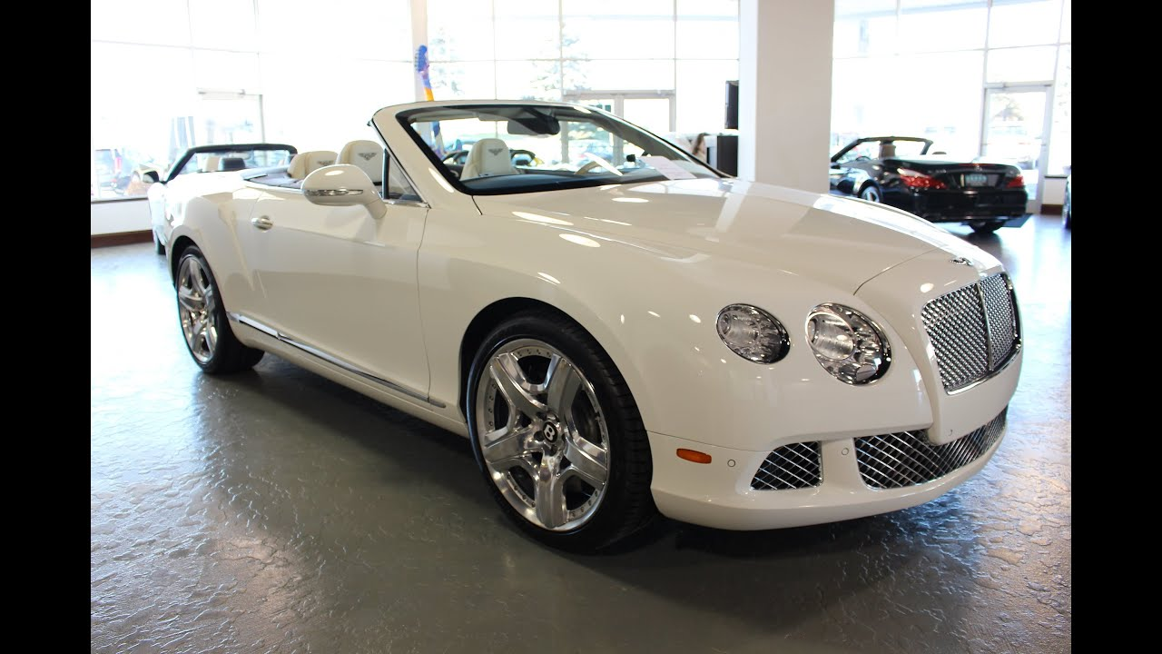 2012 Bentley Continental GTC for Sale in Canton, Ohio | Jeff's Motorcars