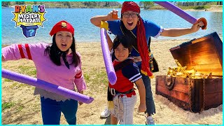 Ryan's Mystery Playdate Pirate Adventure Special on Treasure Island!!!