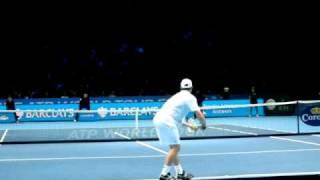 ロディック - サービス - ATP World Tour Finals 2010