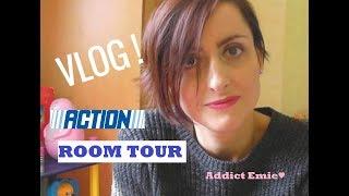 VLOG ! Haul Action , Room Tour...Addict Emie