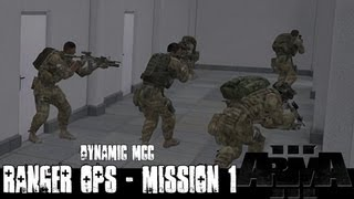 Dynamic Ranger Ops - Mission 1 - ArmA 3 Large Scale Co-op Gameplay