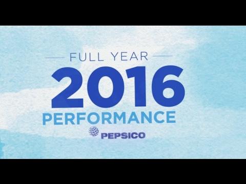 PepsiCo 2016 Full Year Earnings