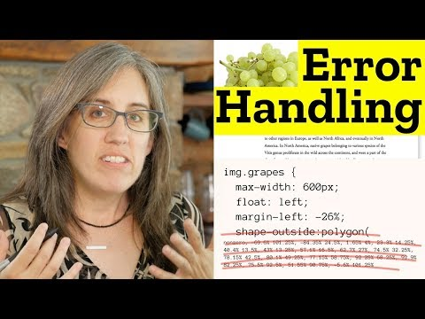 How Browsers Handle Errors In CSS – 3/7 Resilient CSS