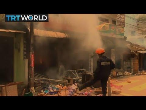 Sri Lanka Violence: Surge in violence destroys homes, takes lives