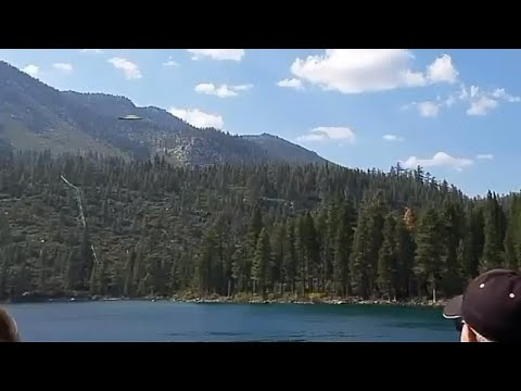 Stranger Zone - Flying Saucer Filmed Over Lake Tahoe