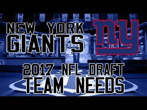 2017 NFL Draft Team Needs: New York Giants
