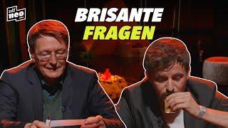 Karl Lauterbach und Tommi Schmitt spielen Wahrheit oder Pflicht