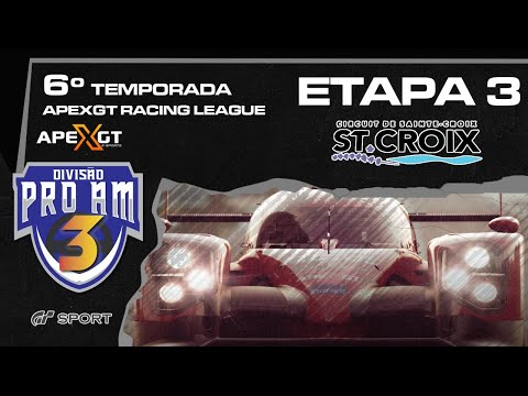 ARL 6 GT SPORT -  CATEGORIA PROAM3  - Etapa 3