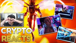 ASH IS BACK!!! Crypto Voice Actor Reacts to Apex Legends Legacy!!!