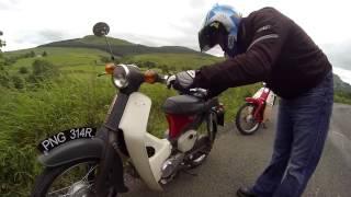 honda c90 racing ride out