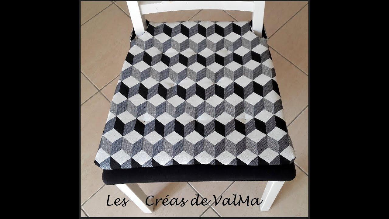 Housse / coussin de chaise   Galette de chaise   Tuto couture