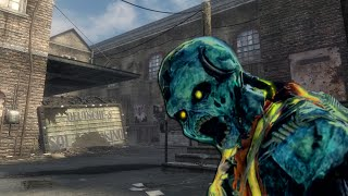 FUTURISTIC KINO DER TOTEN - Call of Duty Zombies Re-Skinned Map!