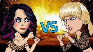 Taylor Swift Vs Katy Perry Fight (HHB Cartoon Parody)