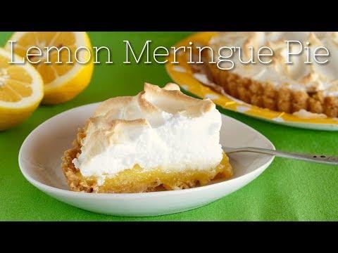 Quick Lemon Meringue Pie Recipe | OCHIKERON | Create Eat Happy :)