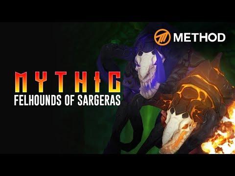 Method VS Felhounds of Sargeras - Mythic Antorus the Burning Throne