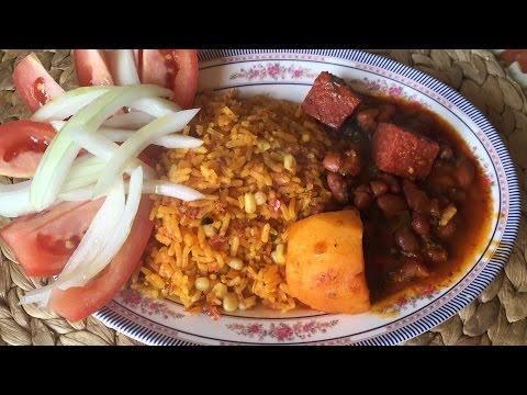 Arroz Con CorndBeef  Y Maiz Blanco,Con Sabor A Puerto Rico