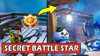 SECRET WEEK 5 BATTLE STAR EMPLACEMENT! ÉCRAN DE CHARGEMENT FORTNITE FREE TIER WEEK 5 (CHUTE DE NEIGE)
