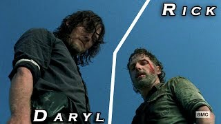 Daryl Dixon &amp Rick Grimes We Own The Night The Walking Dead (Music Video)
