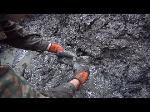 Находки сохранились в глине! Раскопки немецких Блиндажей  // Юрий Гагарин