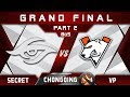 Secret vs VP [EPIC] Grand Final Chongqing Major Highlights 2019 Dota 2 - [Part 2]