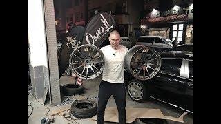 Новые диски для Lexus IS200!  Посетили тюнинг ателье CDM! Mark X V8 5.0! Прожгли на Lexus RC-F!