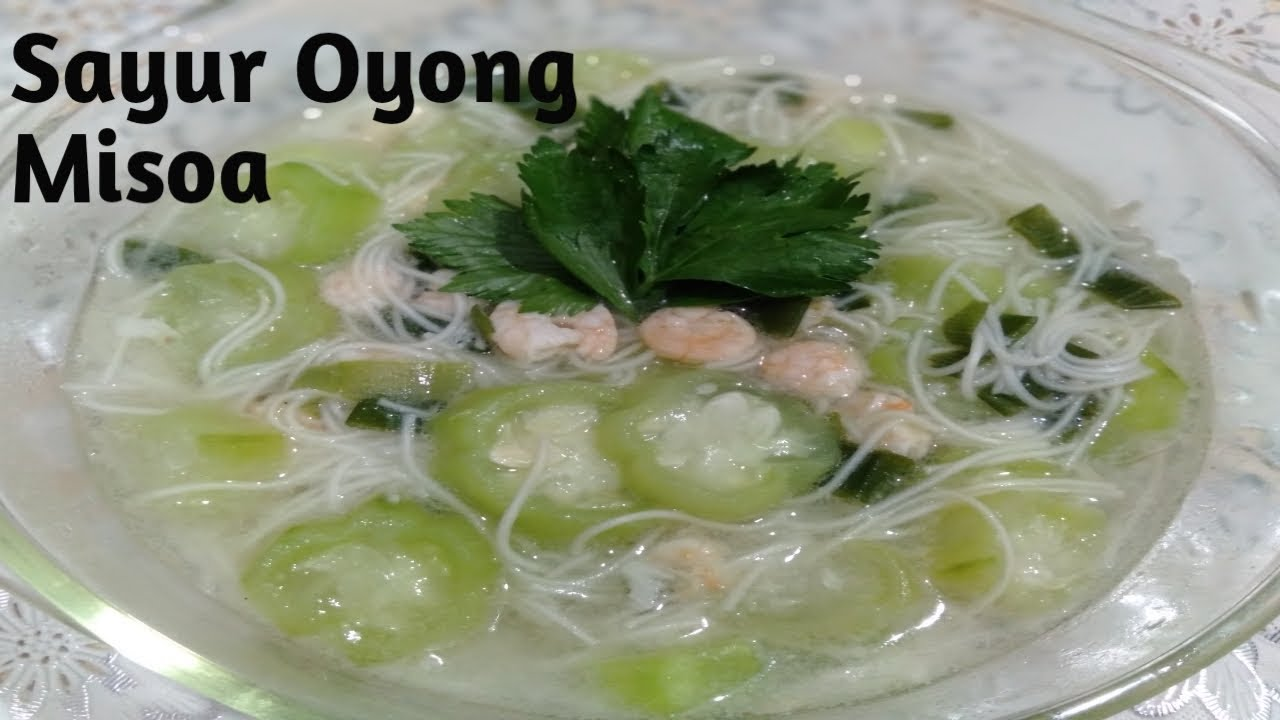 Misua Oyong Telur