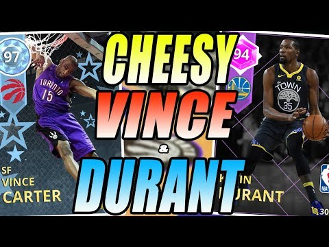 NBA 2K18 MYTEAM DIAMOND VINCE CARTER AND AMETHYST KEVIN DURANT GAMEPLAY!  HOW DID HE DO THAT!?