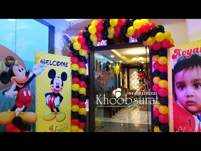 Mickey Mouse theme at moti mahel deluxe 2018