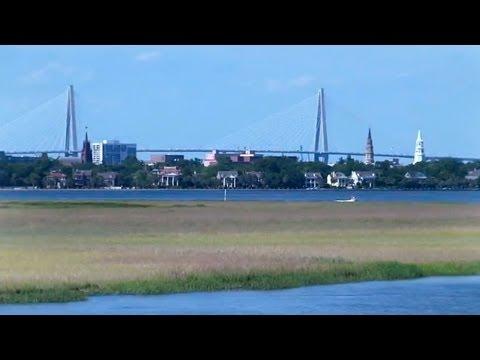 Charleston SC  +  College of Charleston -- Coastal, City, Campus and Classroom Scenes