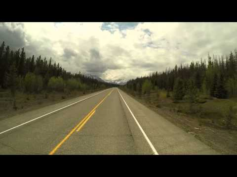 Driving David Thompson Resort to Jasper Alberta