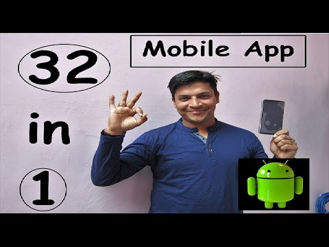 32 in 1 Mobile app Best App For Your Android Mobile [Hindi/Punjabi] Best app 2017 | Mr.Growth | Hind