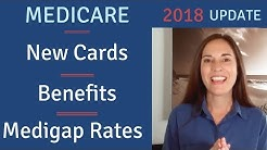 Medicare Updates: NEW MEDICARE CARDS / BENEFITS / MEDICARE SUPPLEMENT RATES