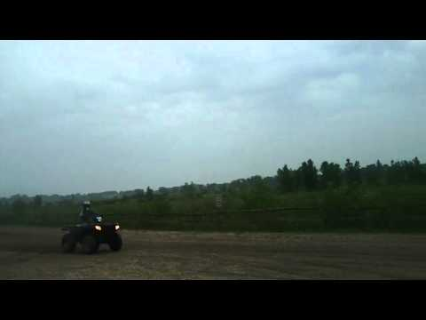 50mph at Richard bong ATV trails