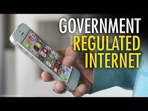 "Let free markets bust ""big internet"" - not government"