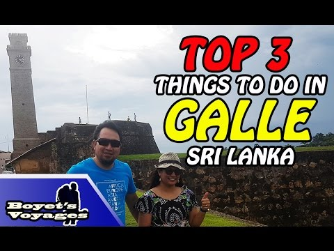 TOP 3 THINGS TO DO IN GALLE