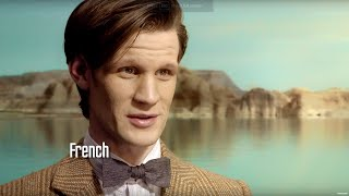 Doctor Who in five languages - BBC Worldwide Showcase