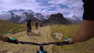 MTB Switzerland - Gornergrat classic to Zermatt in 4K // August 2019