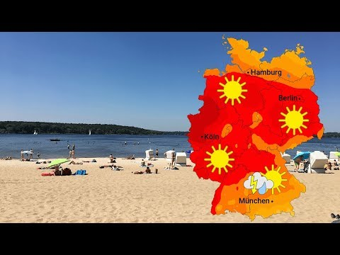 Wetter - Immer mehr Sonne und Hitze (22.06.2019)